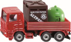 SIKU 0828 SUPER - Recycling-Transporter, 1:55, ab 3 Jahre