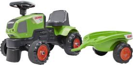 FALK Claas Traktorrutscher mit Anhänger