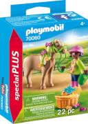 PLAYMOBIL 70060 Mädchen mit Pony