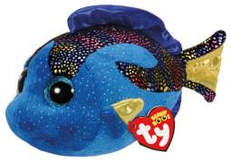 TY AQUA BLUE FISH - BEANIE BOOS