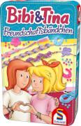 Schmidt Spiele 51404  Bibi & Tina Freundschaftsbändchen in Metalldose, ab 7 Jahre