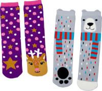 Magic Socks Weihnachten für Kinder one size (Gr.26-36), sortiert nicht frei wählbar