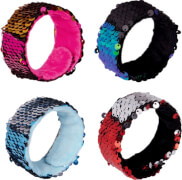 Schnapparmband mit Wendepailletten Weihnachtsgeschenke für Kinder, sortiert nicht frei wählbar